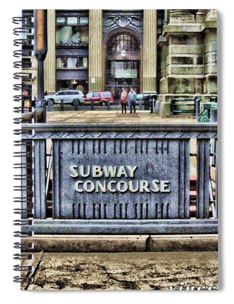City Hall Sidewalk Spiral Notebook