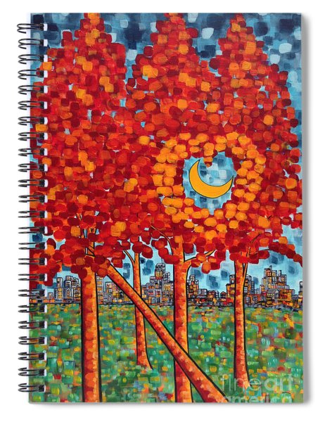 City Moonshine Spiral Notebook