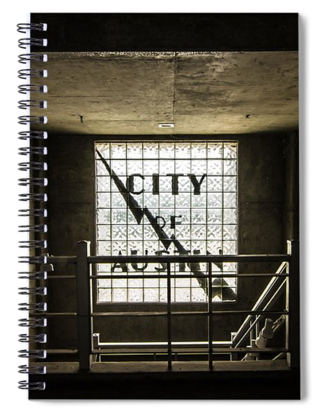 City Of Austin Seaholm Spiral Notebook