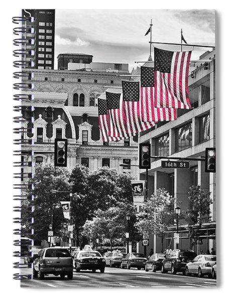 City Of Brotherly Love - Philadelphia Spiral Notebook