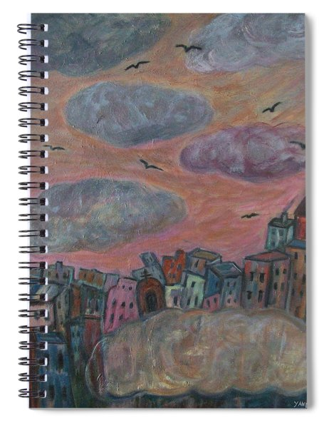 City Of Clouds Spiral Notebook
