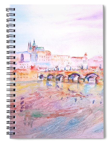 City Of Prague Spiral Notebook