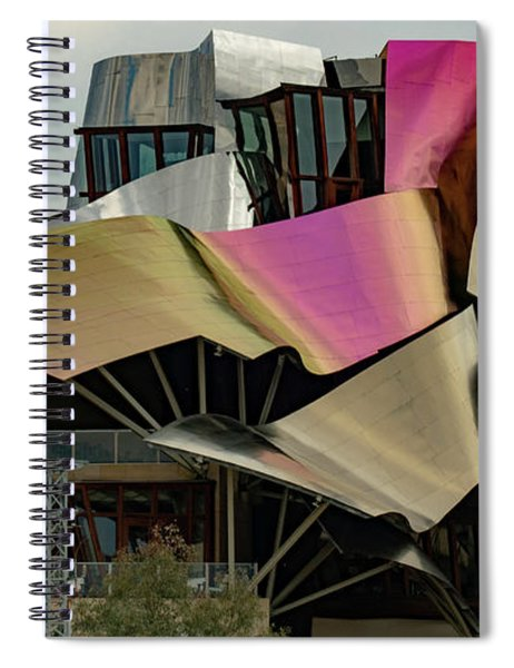 City Of Wine Spiral Notebook