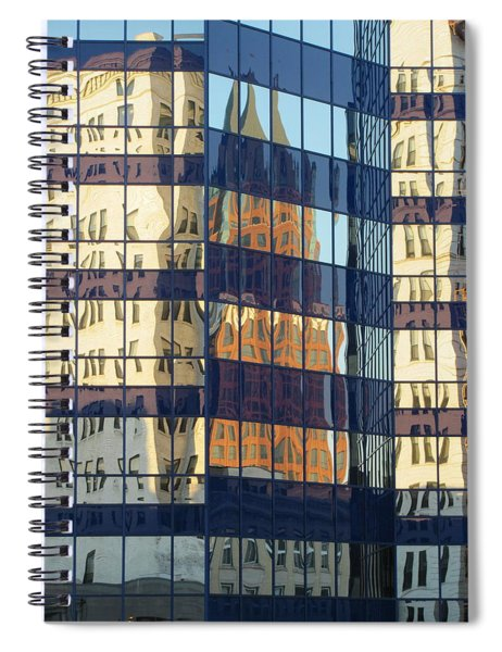 City Reflections 1 Spiral Notebook