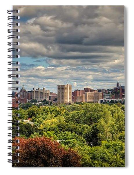 City Skyline Spiral Notebook