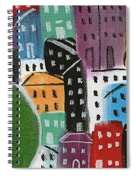 City Stories- By The Park Spiral Notebook