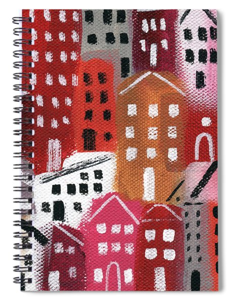 City Stories- Ruby Road Spiral Notebook