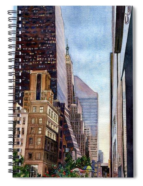 City Sunrise Spiral Notebook