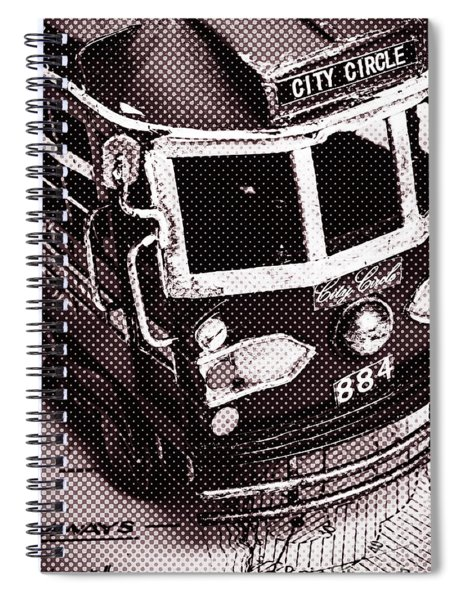 City Wall Art Tours Spiral Notebook