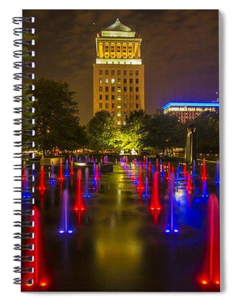 Citygarden St Louis Spiral Notebook