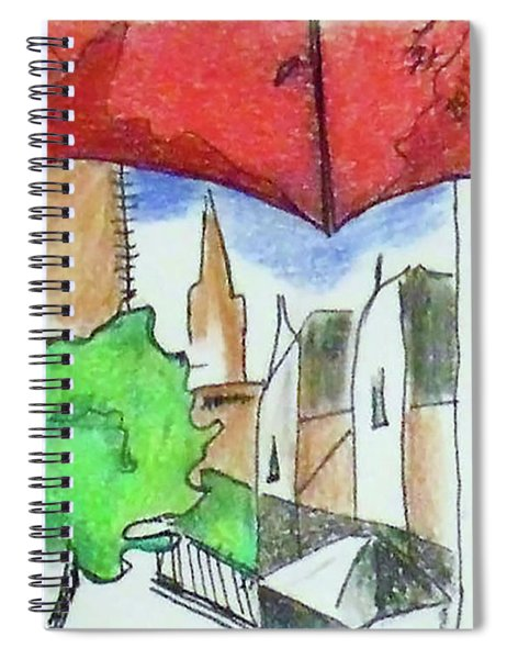 Cityscape 963 Spiral Notebook