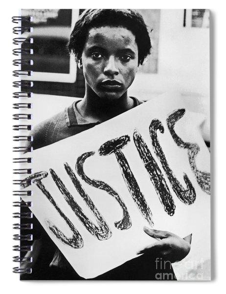 Civil Rights, 1961 Spiral Notebook