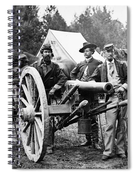 Civil War: Union Officers Spiral Notebook