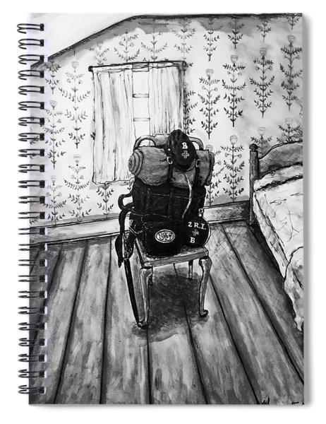 Rhode Island Civil War, Vacant Chair Spiral Notebook