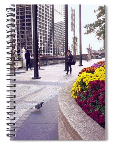 Civilization And Birds Spiral Notebook