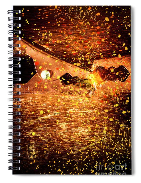 Clamp And Surge Spiral Notebook
