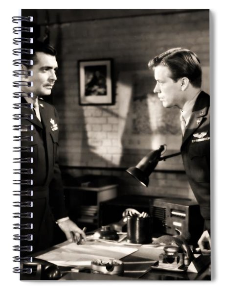 Clark Gable Appearing In Command Decision Spiral Notebook