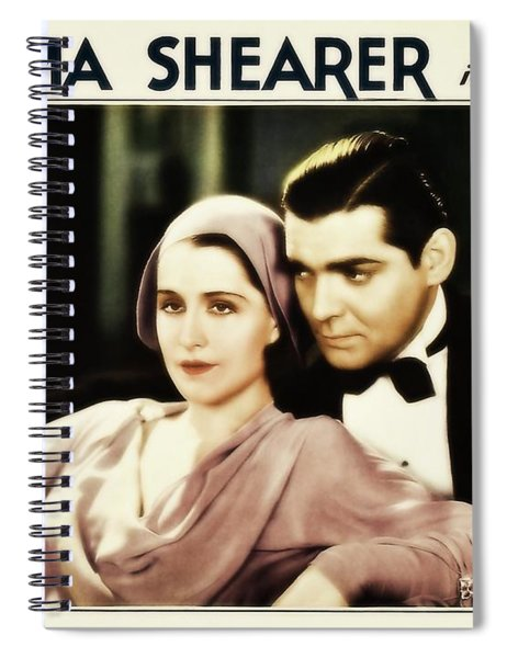 Clark Gable Movie Idol In A Free Soul Spiral Notebook