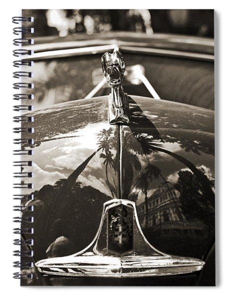 Classic Car Detail - Dodge 1948 Spiral Notebook