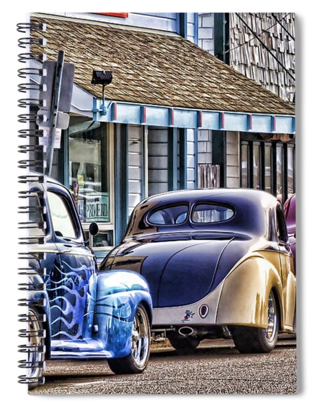 Classic Car Show Spiral Notebook