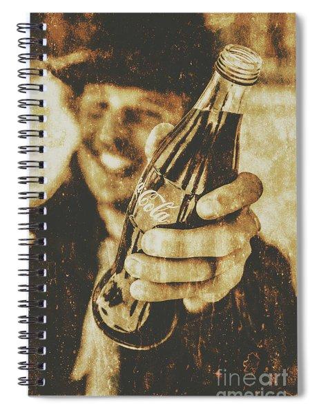 Classic Cola Club Spiral Notebook
