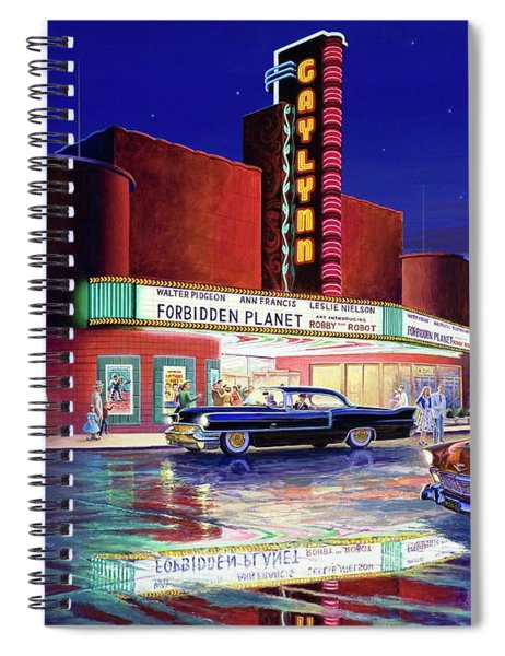 Classic Debut -  The Gaylynn Theatre Spiral Notebook