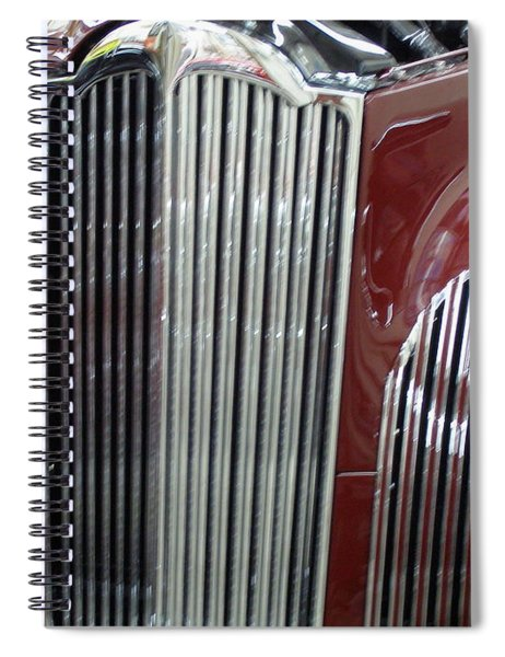 Classic Grille Spiral Notebook