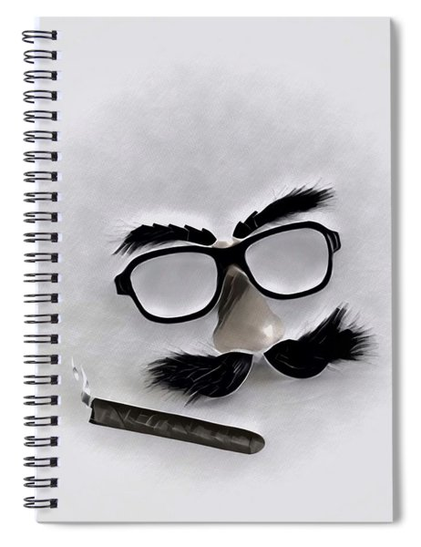 Classic Groucho Spiral Notebook