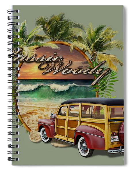 Classic Woody Spiral Notebook