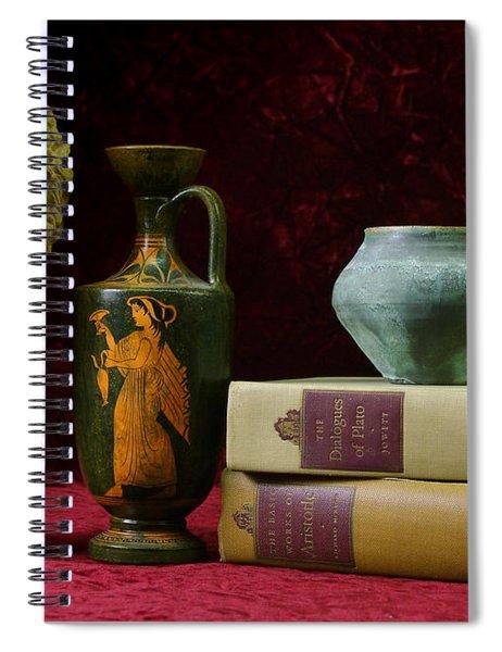 Classical Greece Spiral Notebook