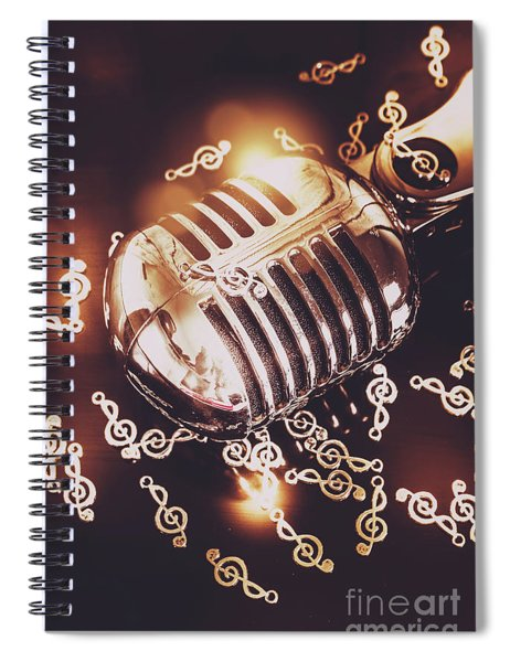 Classics At The Audio Hall Spiral Notebook