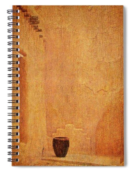 Clay Pot, Window, Mud Walls....pigeon Spiral Notebook