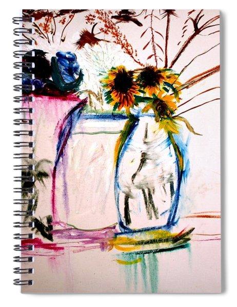 Clear Spiral Notebook