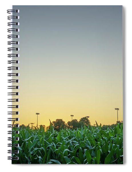 Clear Skies Sunset Spiral Notebook