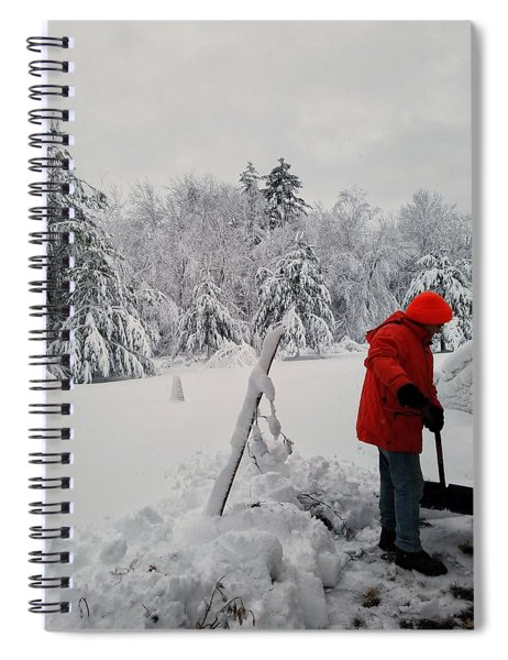 Clearing A Path Spiral Notebook