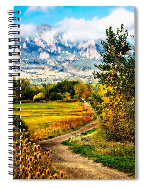 Clearly Colorado Spiral Notebook
