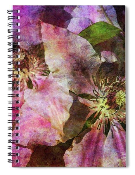 Clematis 9569 Idp_2 Spiral Notebook