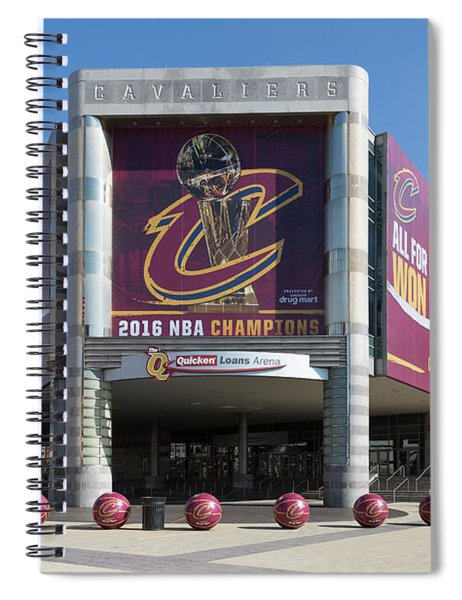 Cleveland Cavaliers The Q Spiral Notebook