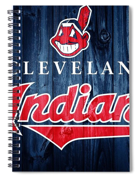 Cleveland Indians Barn Door Spiral Notebook