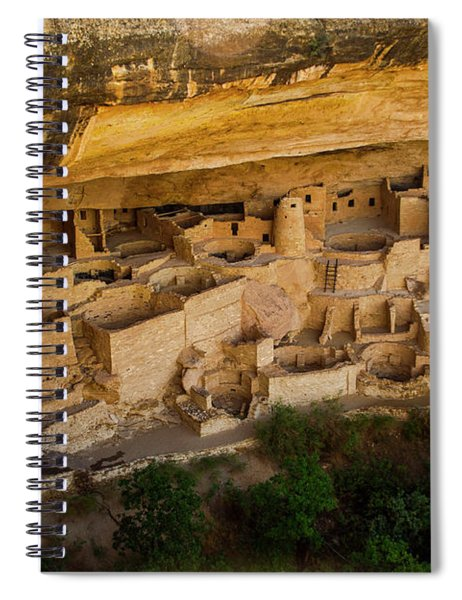 Cliff House From Above Spiral Notebook