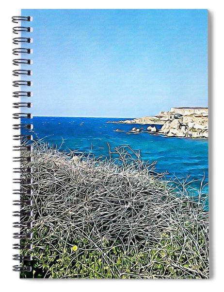 Cliff  Spiral Notebook