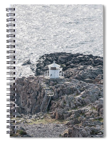 Cliffs At Kullaberg Spiral Notebook