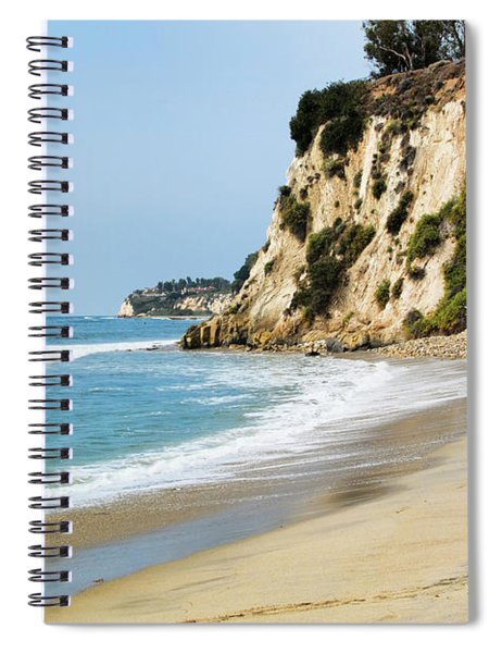 Cliffs At Paradise Cove Spiral Notebook
