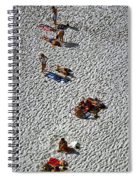 Clifton Beach, Cape Town Spiral Notebook by Travel Pics