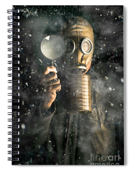 Social Engineering Climate Change Spiral Notebook