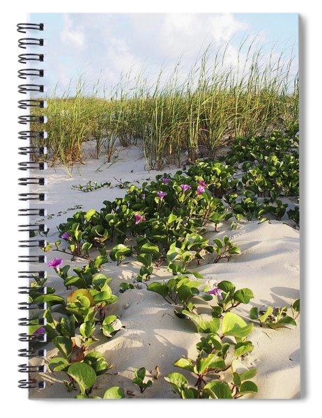 Climbing The Dunes Spiral Notebook