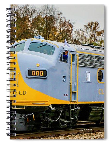 Clinchfield No 800 Spiral Notebook