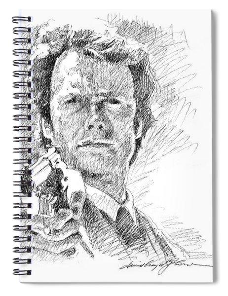 Clint Eastwood As Callahan Spiral Notebook