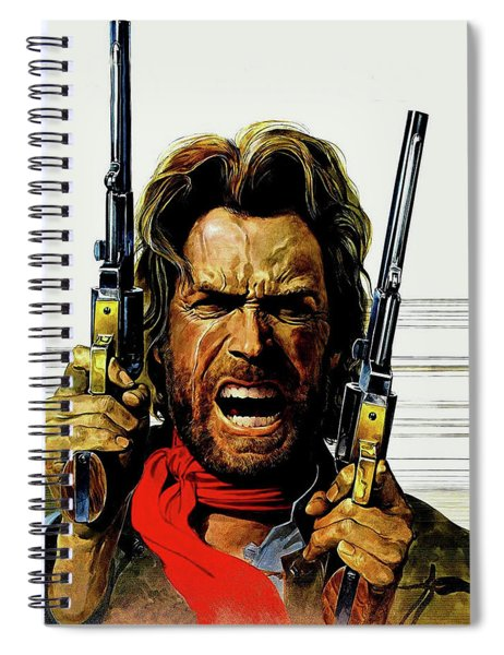 Clint Eastwood As Josey Wales Spiral Notebook
