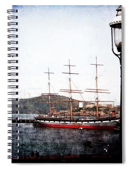Clipper Ship Spiral Notebook